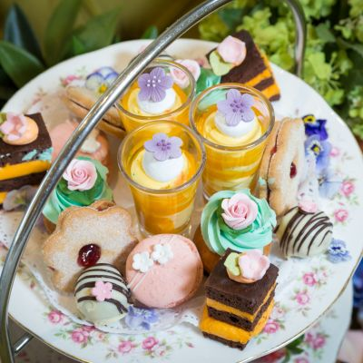 Chelsea Flower Show Inspired Afternoon Tea